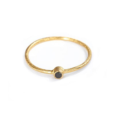 The Mini Stone Stacking Ring-Ring-Black Betty Design