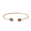 Double Stone Bangle-Bracelet / Bangle-Black Betty Design