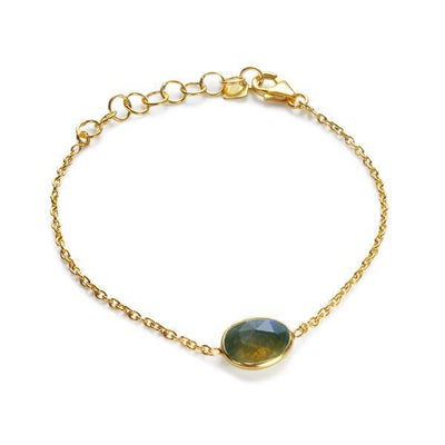 The Faceted Stone Bracelet