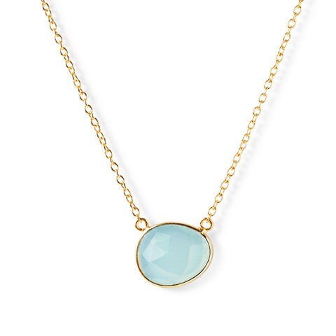 The Faceted Stone Necklace