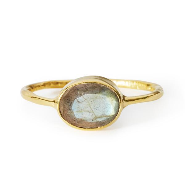 The Oval Stone Ring