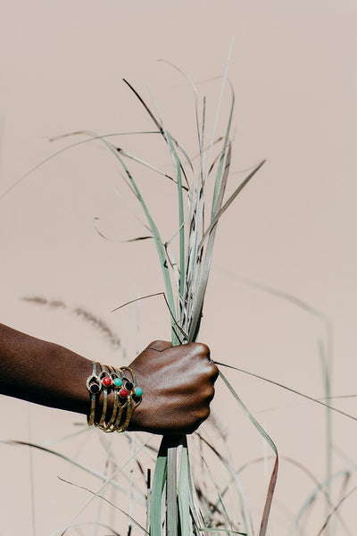 THE HOOKED LUNA BANGLE IN SILVER-Black Betty Jewellery Design, South Africa
