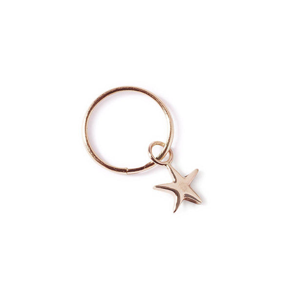 The Rose Gold Star Pendant