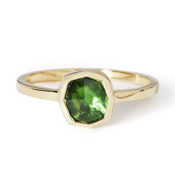 Raw Emerald Ring-Ring-Black Betty Design