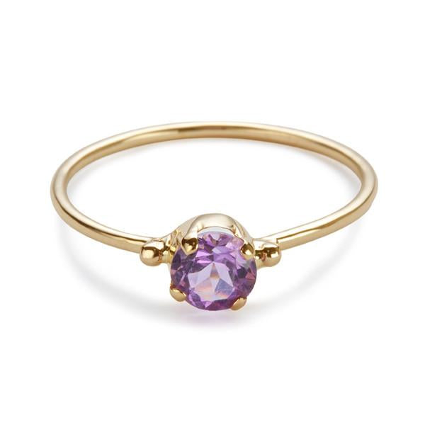 The Skinny Joy Amethyst Ring-Ring-Black Betty Design