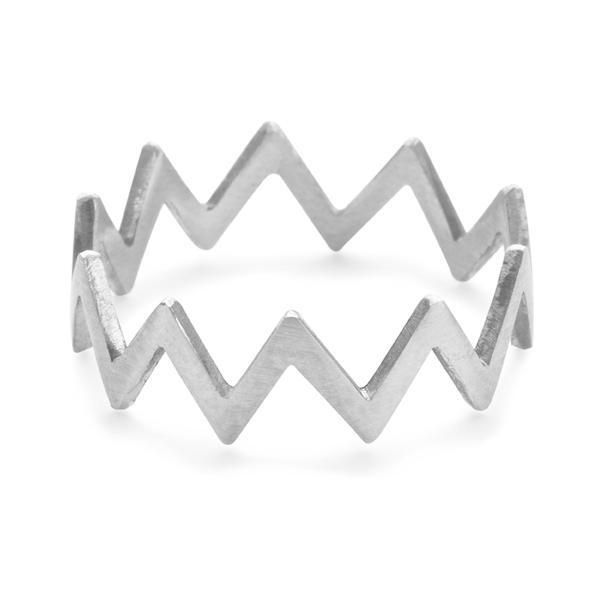 The Rick Rack Ring in Silver