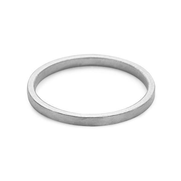 Jack - 1.5mm Band in Silver
