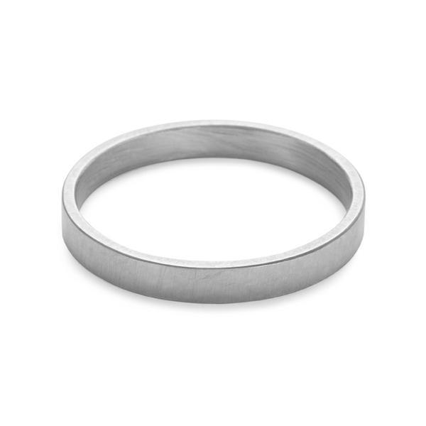 Tom - 2.5mm Band in Silver-Ring-Black Betty Design