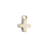 The Swiss Cross Charm in Yellow Gold-Pendant-Black Betty Design