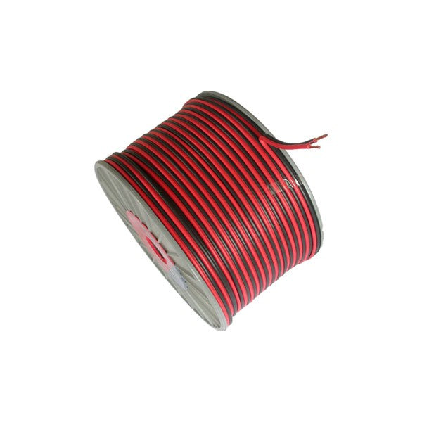 10amp Red / Black DC Cable 100mtr Reel