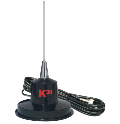 "K40 K-30 35"" 300 Watts Stainless Steel Magnet Mount"