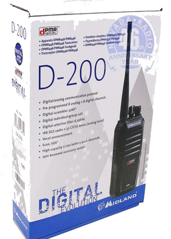 Midland D200  Digital or Analogue