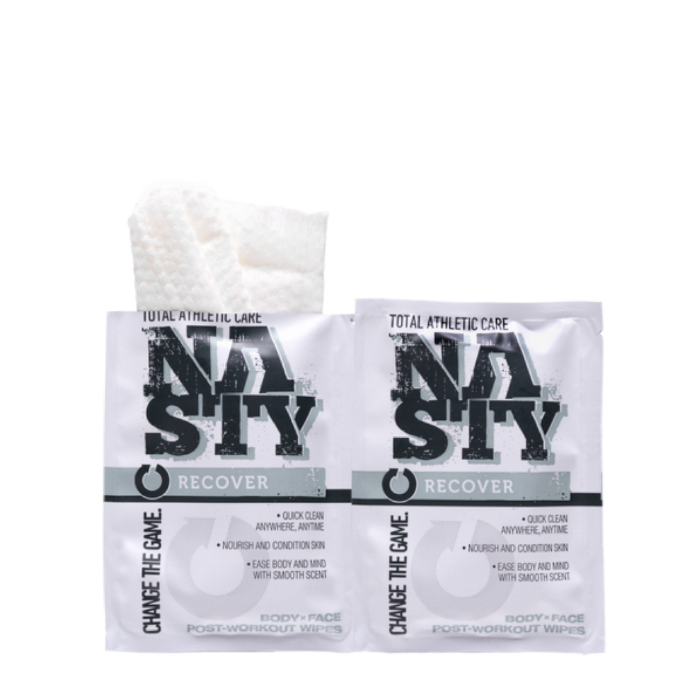 2 Free RECOVER Post-Workout Wipes
