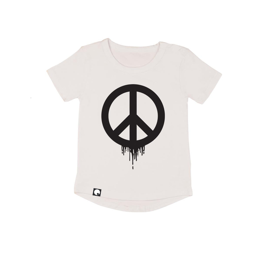 Peace Out Drop Back T-shirt