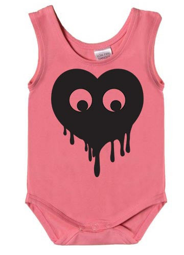 Eye Love You Singlet Bodysuit