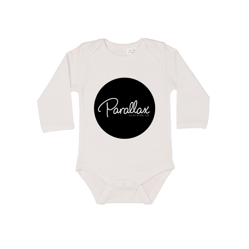 Parallax Circle Logo Long Sleeve Bodysuit