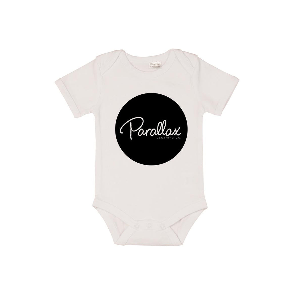 Parallax Circle Logo Short Sleeve Bodysuit