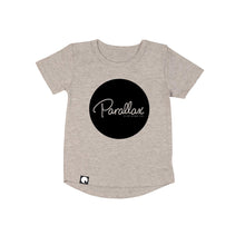 Parallax Circle Logo Long Back T-shirt