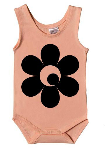 Flower Power Singlet Bodysuit
