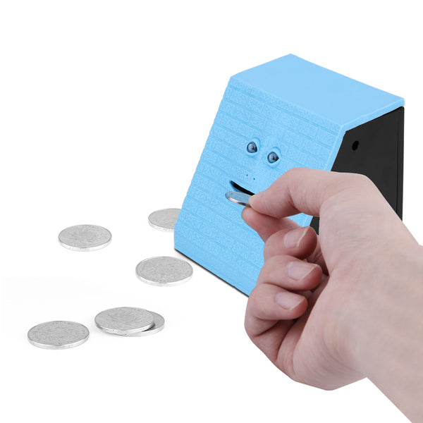 Interactive Money Eating Face Piggy Bank