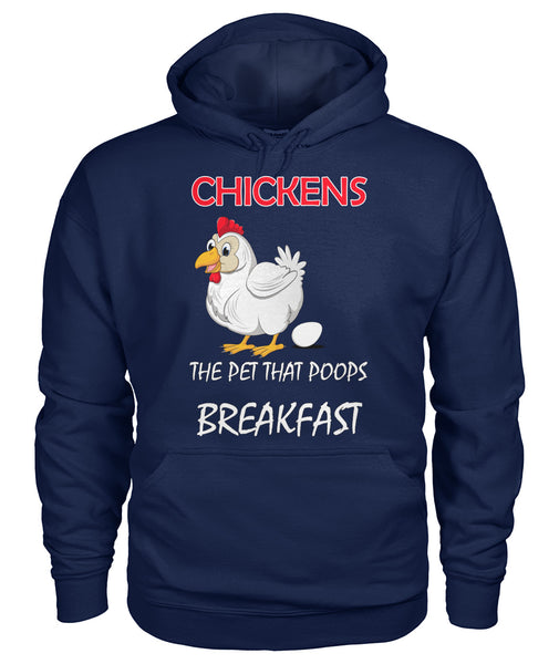 New Chickens Poop Breakfast TShirt/Hoodie