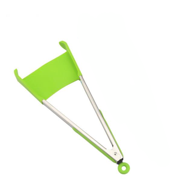2 in 1 Kitchen Spatula and Tongs (Dishwasher Safe)