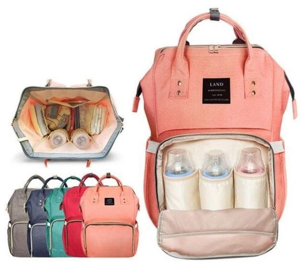 Multi-Functional Maternity Nappy/Diaper Bag