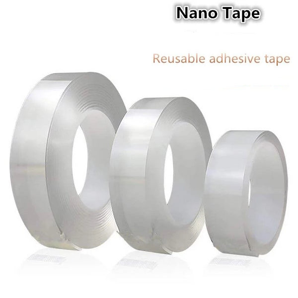 Reusable And Washable Transparent Double-sided Nano Magic Tape