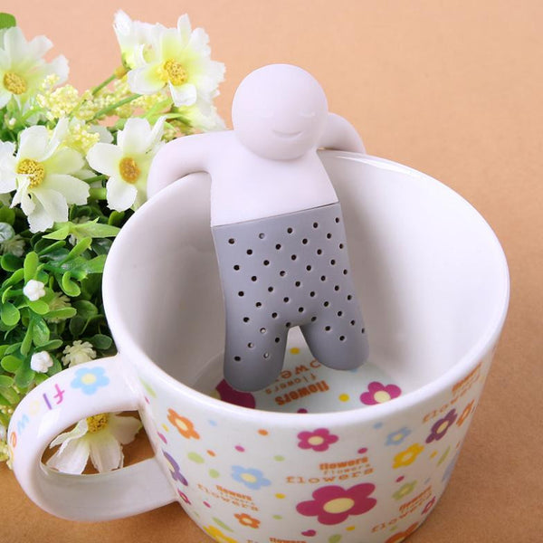 Creative And Funny Man in a Cup Tea Infuser