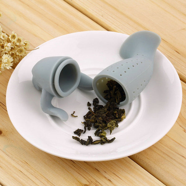 Creative And Funny Sea Cow in a Cup Tea Infuser