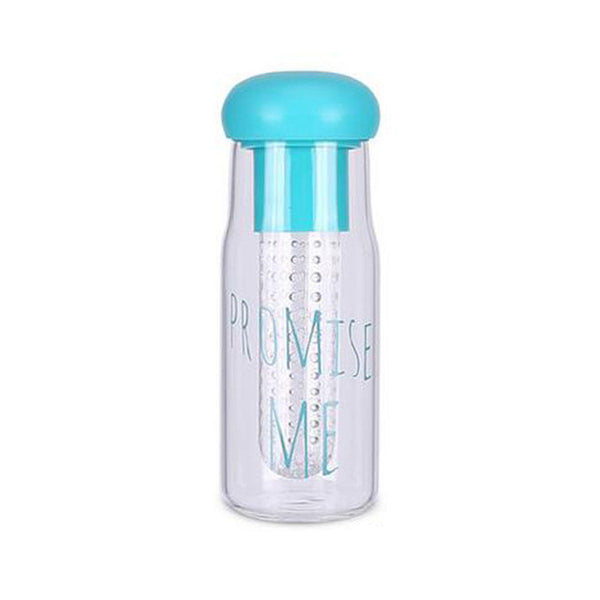 Fruit Infuser Pormise Me Plastic Water Bottle 750ML