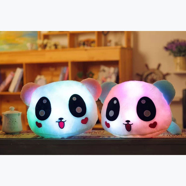 New Luminous LED Glowing Panda Plush Toy With Free Shipping