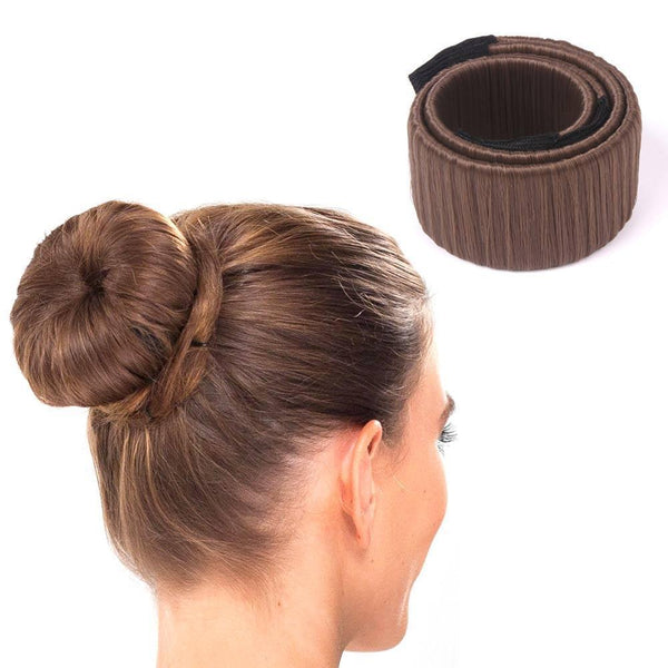 DIY Easy Hair Bun Maker