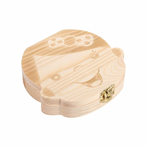 New Wood Tooth Box For Babies and Kids