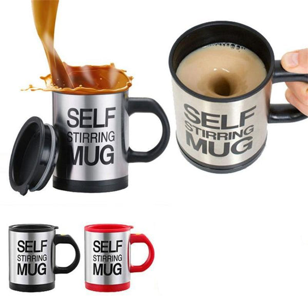 Creative Self Stirring Mug 400ml / 13.5oz