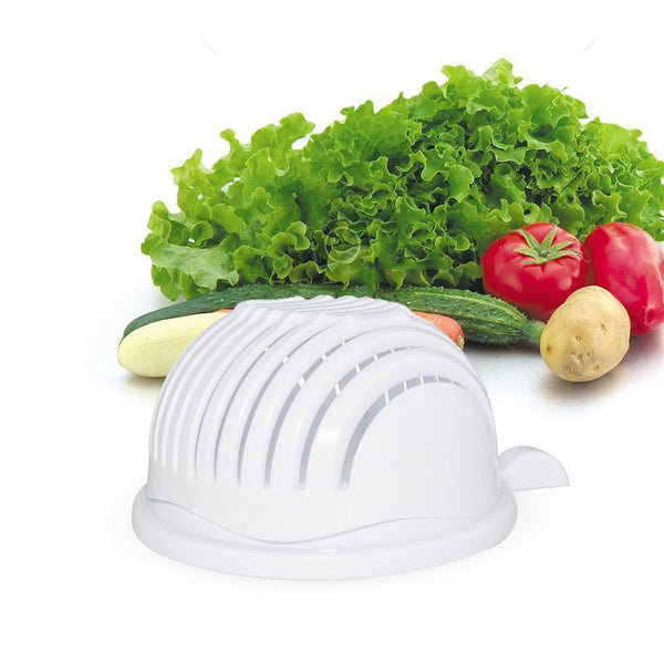 New 60 Seconds Easy Salad/Vegetable Cutter Bowl