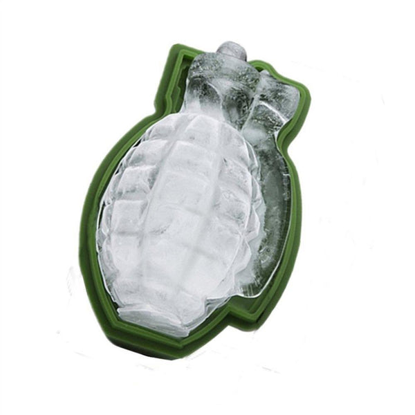 Creative 3D Grenade Shaped Ice Mold