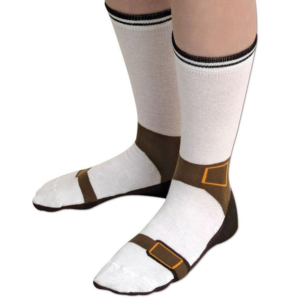 Funny Sandal/Sneakers Design Socks (One Size Fits All)