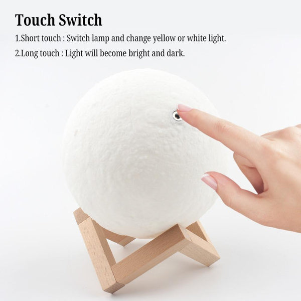 3D Moon Lamp/LED Night Light For Home or Christmas Decoration