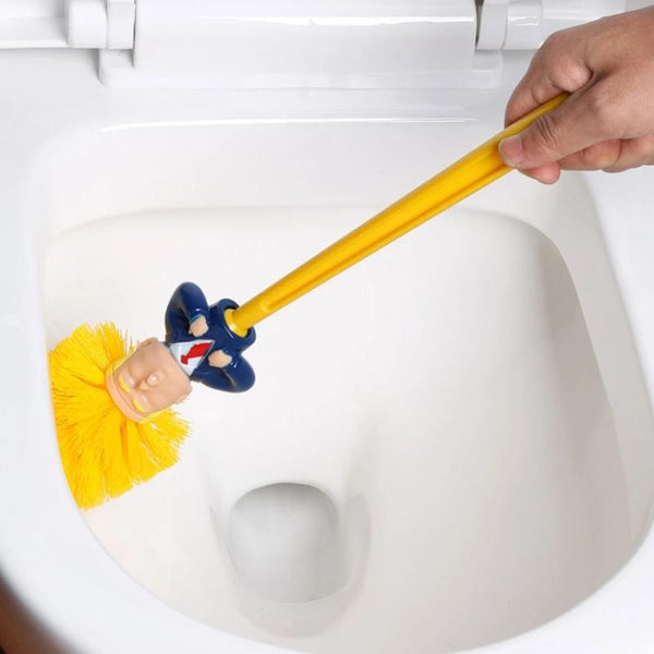 Funny Donald Trump Bathroom Toilet Brush