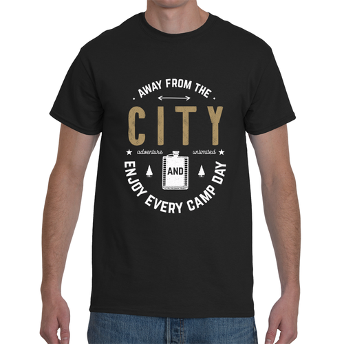 Away From The City Enjoy Every Day T-Shirts