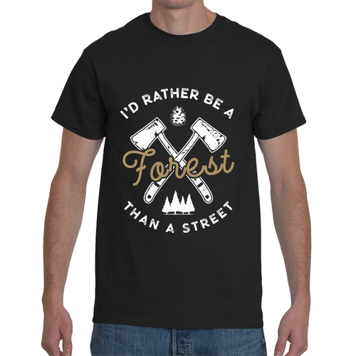 I'd rather Be A Forest Than A Street T-Shirt