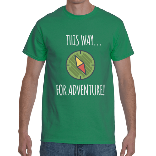 This Way For Adventure T-shirt 7 Colors