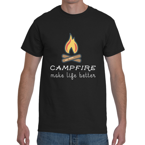 Campfire - Make Life Better T-shirt 6 Colors
