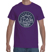 Stay Wild Camping Child T-Shirt 8Colors