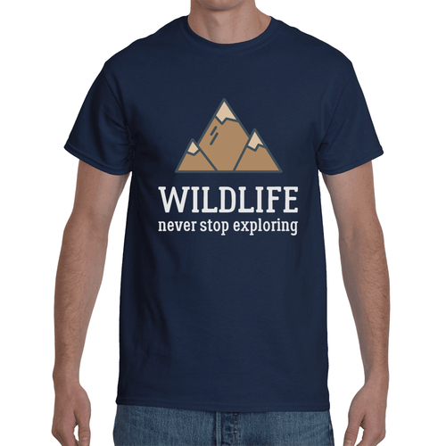 Wildlife - Never Stop Exploring T-shirt 6 Colors