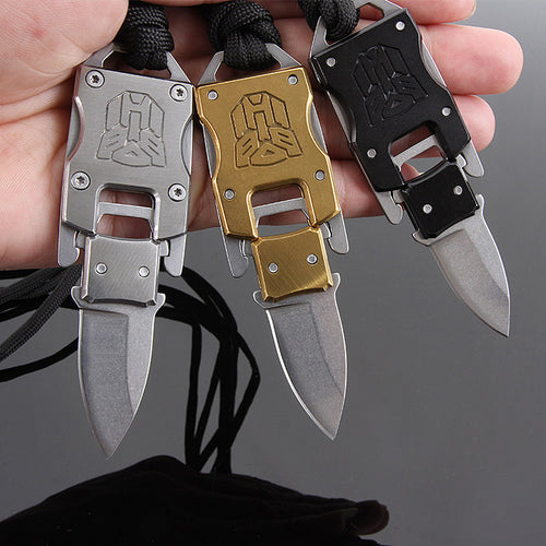 Small Tactical Neck Folding Knife