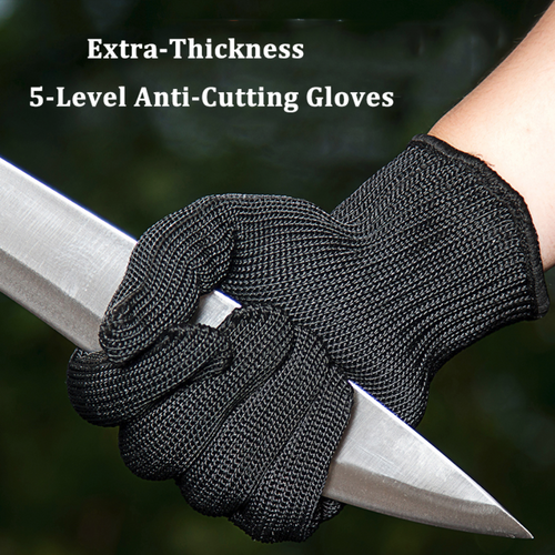 Extra Thickness 5-Level  Anti-Cutting Breathable Gloves