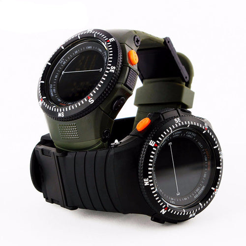 Military Tactical Multifunctional Watch Waterproof Digital LED Watch