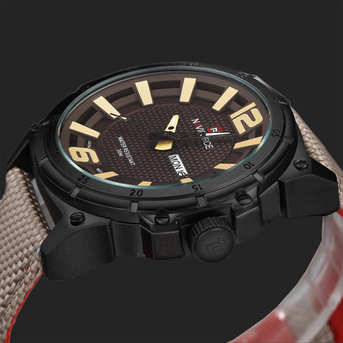 2017 Military Original Nylon Strap Waterproof Watch
